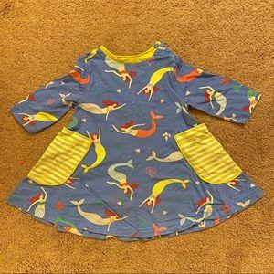 Mini Boden mermaid hotchpotch tunic, size 2-3 yrs